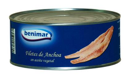ANCHOAS A/VEGETAL