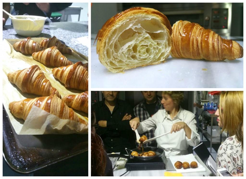 Técnicas de elaboración de croissant