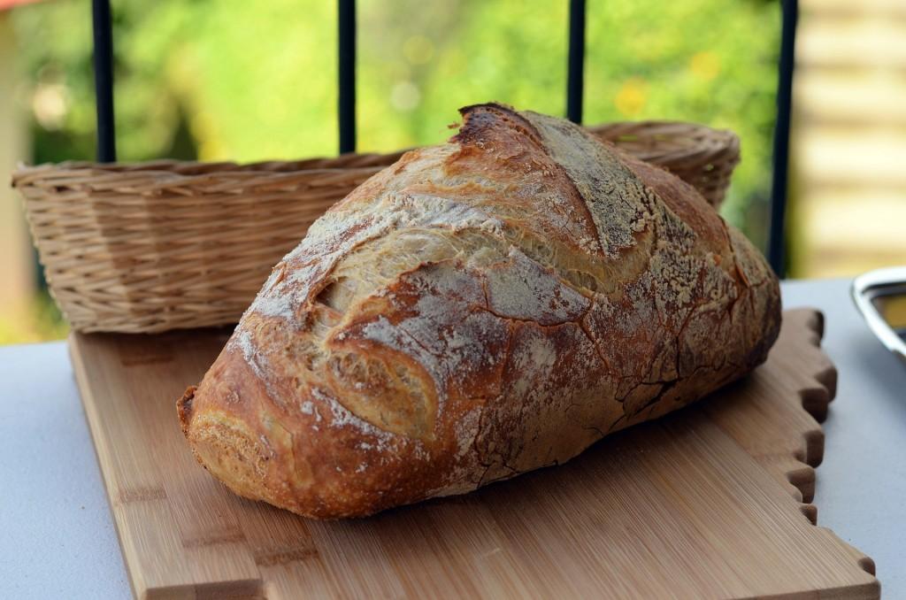Horneado tradicional del pan